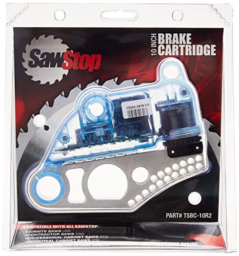 "SawStop TSBC-10R2 Table Saw Brake Cartridge For 10"" Blades"