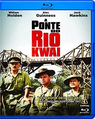 A Ponte do Rio Kwai - ( The Bridge on the River Kwai) David Lean [ Blu-Ray ]