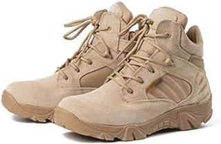 GJHYJK Bottes Combat dans La Jungle Hommes Bottes D'entraînement dans Le Désert Plein Air Bottes Tactiques Randonnée Chaus...