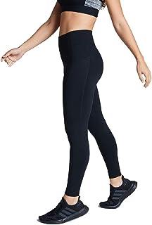 Rockwear Activewear Women's Fl Perforated Pocket Tight Black 14 from Size 4-18 for Full Length High Bottoms Leggings + Yog...