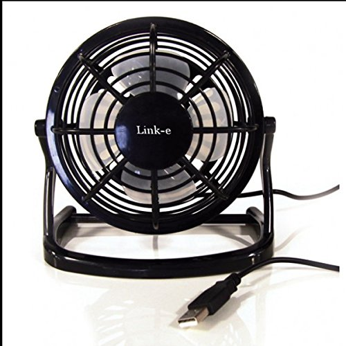 Link-e : USB Ventilator Kühler Für PC, MAC, Notebook, Schreibtisch, Spielkonsole (PS4, PS3, Xbox...) - Tischventilator, Fan, Lüfter, Büro