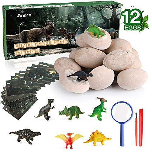 Pa de 60 Mini Cute Colorful Dinosaur Egg Dino Figures Growing Children Toy