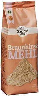 Bauckhof Bio Bauck Braunhirsemehl, glut.fr 2 x 425 gr