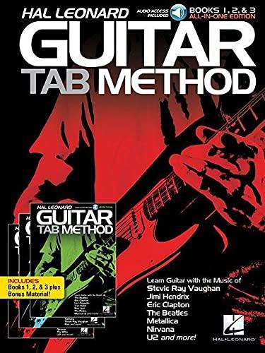 Hal Leonard Guitar Tab Method: Books 1, 2 & 3 All-in-One Edition!