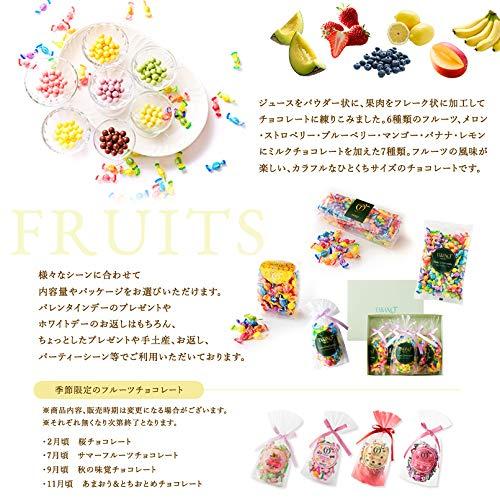 『新宿高野 フルーツチョコレート5入EA (ギフト セット) 贈り物 [ハロウィン/クリスマス/内祝い] 7種類のフルーツ 5袋入り』の2枚目の画像