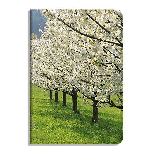 Cherry Blossom Schutzhülle für iPad Air 4. Generation 2020 (26,7 cm / 10,9 Zoll), Multi-Winkel-Viewing Folio-Smart-Ständer, automatische Sleep/Wake-Funktion, Baumsaison