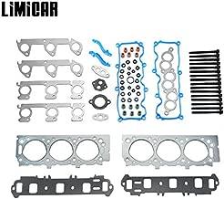 LIMICAR Cylinder Head Gasket Set with Head Bolts For 1998 1999 2000 2001 Ford Ranger Mazda B3000 3.0L V6 HS9902PT ES72174