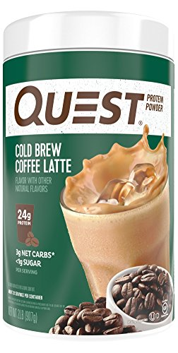 Quest Nutrition Protein Powder, Cold Brew Coffee Latte, 32 Ounce
