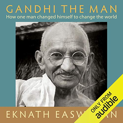 Gandhi the Man audiobook cover art