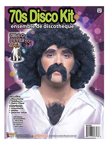 Forum Novelties 70s Disco Costume Facial and Chest Hair