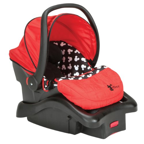 Sale!! Disney Light 'n Comfy Luxe Infant Car Seat, Mickey Silhouette