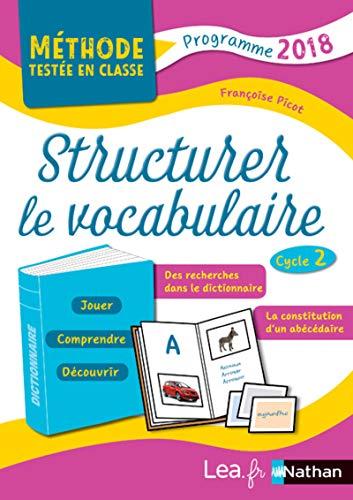 Structurer le vocabulaire