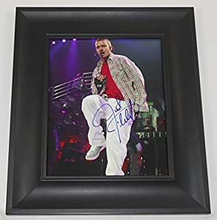 Justin Timberlake Justified Beautiful Signed Autographed 8x10 Glossy Photo Gallery Framed Loa