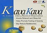 (6 Packs) kava kava muscle relaxant and sleep aid 500 milligram
