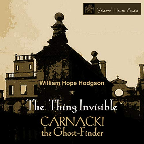 The Thing Invisible audiobook cover art