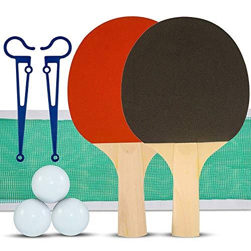 Table Tennis Set – Ensemble de Ping-Pong – 2 Joueurs