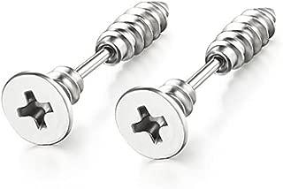 Best earrings that look like screws Reviews