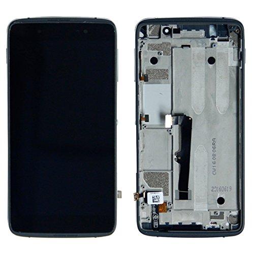 Cellphone Replacement Parts Handy-Ersatzteile iParts Kaufen für Alcatel One Touch Idol 4 LTE / 6055 LCD Bildschirm + Touchscreen mit Rahmen Ersatzteile