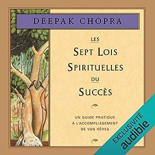 Couverture de Les sept lois spirituelles du succès