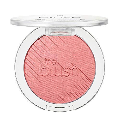 essence the blush, Rouge, Nr. 30 breathtaking, rot, langanhaltend, matt, vegan, Nanopartikel frei, ohne Parfüm, 3er Pack (3 x 5g)