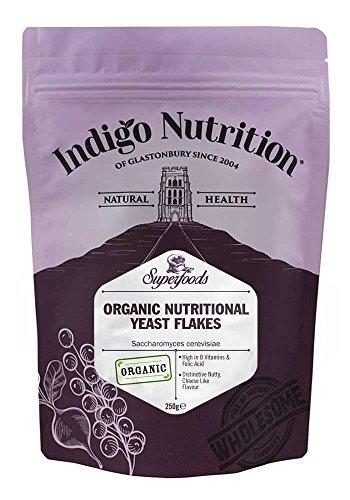 Indigo Herbs Copos de Levadura Nutricional orgánico 250g