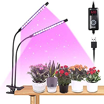 Grow Light, JESLED 9 Dimmable Levels Plant Grow...