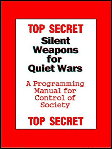 TOP SECRET - Silent Weapons for Quiet Wars: An Introductory Programing Manual by [- Anonymous]