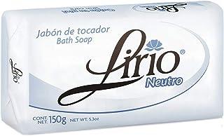 Jabon Neutro Neutral Soap Lirio for Facial Use with Crema la Milagrosa and Tia Mana (Pack of 1)