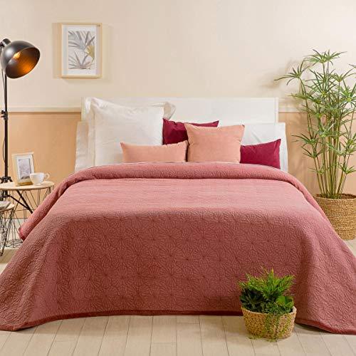 Sancarlos Bardena Bouti-Tagesdecke, rot, für 150 cm breite Betten