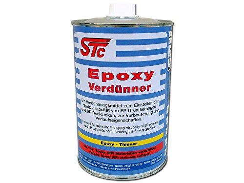 STC Epoxy Verdünner 1L Epoxy Verdünnung Epoxid Verdünnung Epoxidverdünnung
