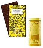 Maison Bonange Bio-Schokolade (70 % Kakao / 24 kt Blattgold), 75 g, + Ronnefeldt Tea Couture® Herbs & Ginger, aromatisierter Kräutertee, 100 g (insg. 175 g)