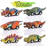 ATOPDREAM Jouet Garcon 2-8 Ans, Cadeau Garçon 2 3 4 5 Ans Voiture de Jouet de Dinosaure Jouet Enfant 2-8 Ans Garcon Cadeau D'anniversaire 2-5 Ans Fille Jouet
