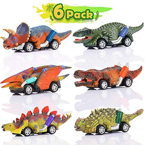 ATOPDREAM Juguetes Niños 2-8 Años, Juegos Niños 2 3 4 5 Años Dinosaurio Juguete Coche Regalos Niños 2 3 4 5 6 7 8 Años Regalos de Cumpleaños para Niños Juguetes para Niñas de 2-5 Años