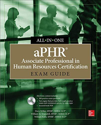 aPHR Associate Professional in Human Resources Certification All in One Exam Guide product image