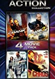 Action Collection 4 Movie Pack (Crank/Crank 2: High Voltage/The Bank Job/Chaos
