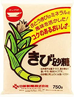 カップ印 きび砂糖 750g×10袋 1ケース