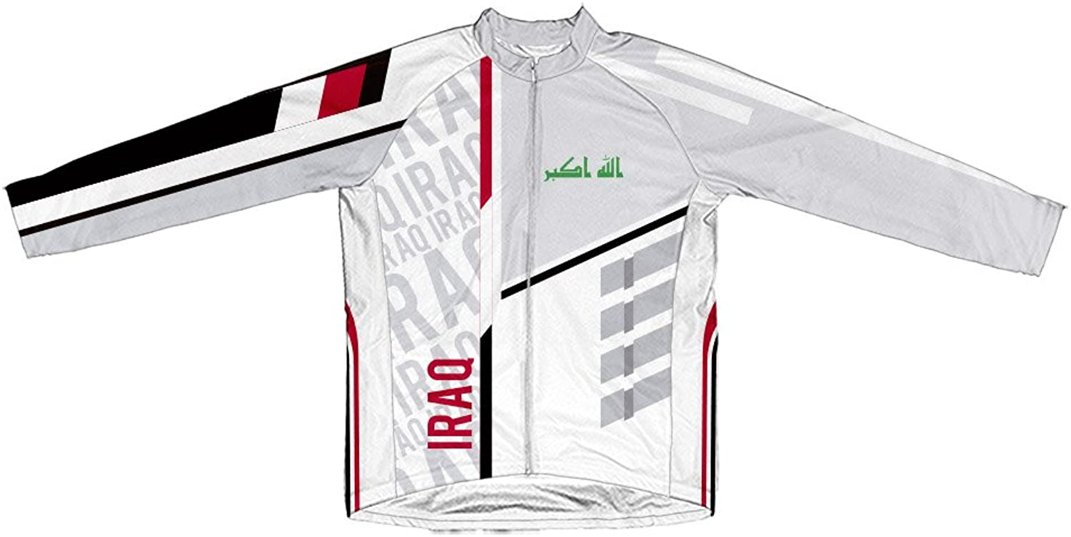 Iraq ScudoPro Winter Thermal Cycling Jersey for Women
