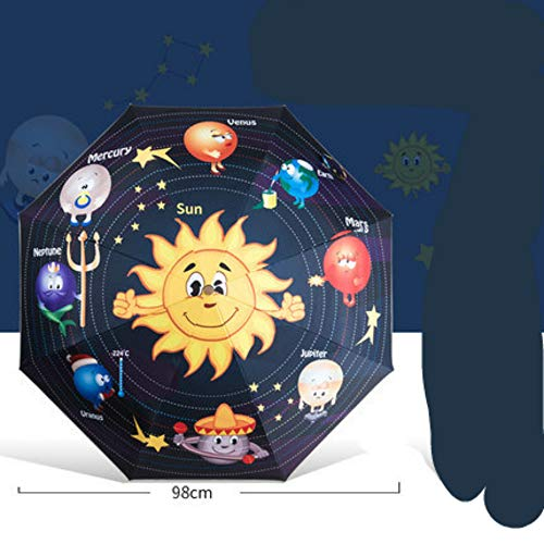 YYouRuiCartoon Children Adult Universal Umbrella Creative New Sunscreen Automatic Umbrella Folding Sun Umbrella