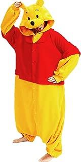 Pooh Cosplay Winnie Onesies Pajamas for Adults