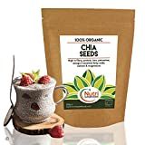 ORGANIC Chia Seeds | Vegan Plant Protein for Energy Boost | High Performance