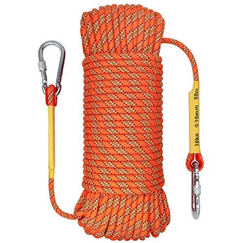 OXYVAN 10mm climbing rope 32ft Orange