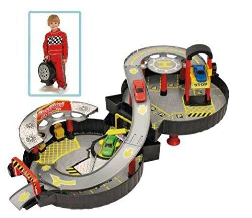 Wheel Garage with Car.