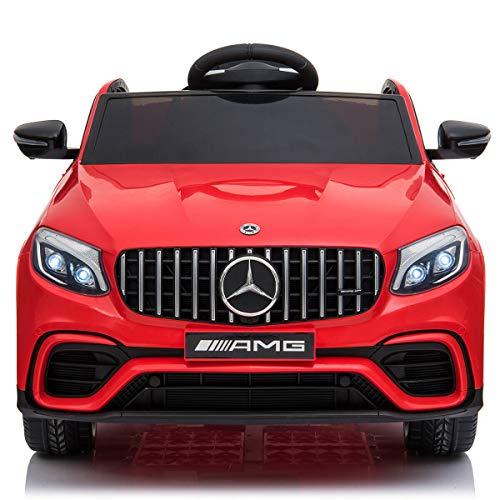 BC BABY COCHES Mercedes GLC 63S - Coche eléctrico para niños con...