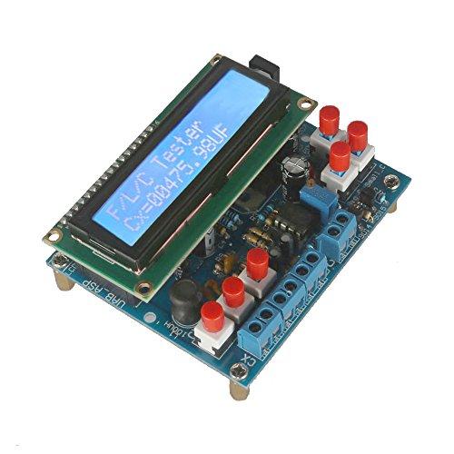 KKmoon Digital Kapazität Meter Bausatz【Secohmmeter/Frequenz Meter/Induktivität Tester】