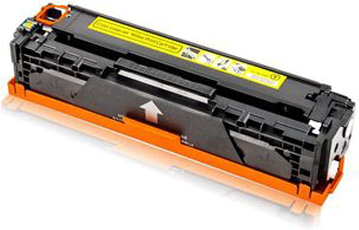 AXAX Compatible Toner for HP CF210A Toner Cartridge Replacement for HP Laserjet PRO 200 Color M251N M251NW MFP Printer,School Printer Accessories Easy to Install Yellow