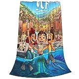 Luca Blanket Novelty Soft Lightweight Plush Blankets Applicable All Season for Boys Girls