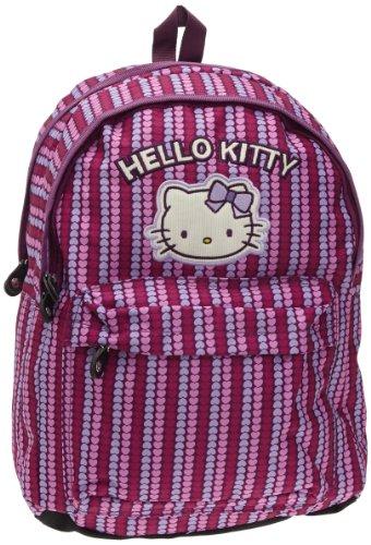 Hello Kitty Sac à Dos 2 C, Sac à dos scolaire - Rose