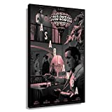 Casablanca Movie Romance Poster Prints for Wall Canvas