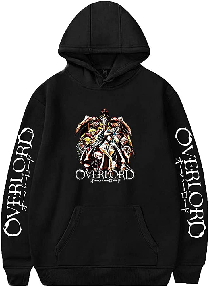 Overlord Hoodie Unisex Pullovers Long Sleeve Our shop OFFers the best service Women Tracksu Men's Elegant