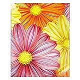 Flor floreciente papel filigrana pintura hecha a mano DIY decoración de pared decoración del hogar
